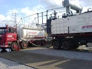 dry vac plant set up for bulk loads